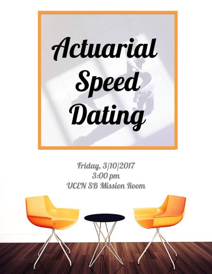 Actuarial Sped Dating update