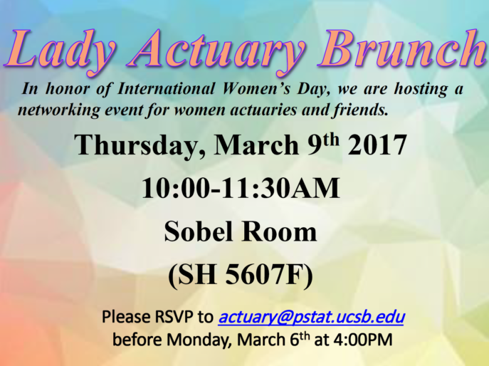 Lady Actuary Brunch-flyer