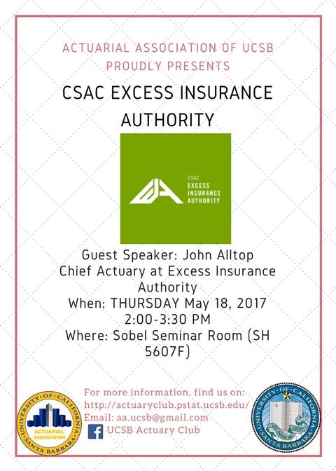 CSAC Excess Insurance Authority (CSAC EIA)
